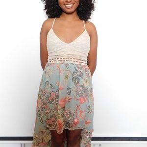 Dresses & Skirts - High Low floral dress